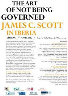"Seminario ""James C. Scott in Iberia power, anthropology and history"""